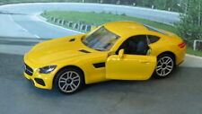 MERCEDES-AMG GT 1:59 (Yellow) Majorette MIP Diecast Passenger Car Sealed