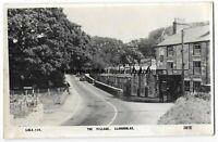 Wales Llanddulas The Village Real Photo Vintage Postcard 23.6