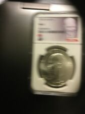 "1972 S Eisenhower Silver Dollar MS67 NGC ""I Like Ike"" Label"