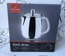 Grunwerg Duchess Coffee Pot / Tea Pot Stainless Steel 0.91 L Hinged Lid NEW