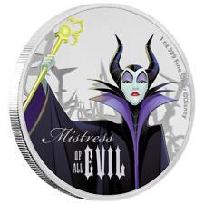 Niue - 2 Dollar 2018 - Disney™ Böse Königin (2.) - Maleficent - 1 Oz Silber PP