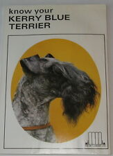 Vintage Kerry Blue Terrier Book Know Your Kerry Blue Terrier
