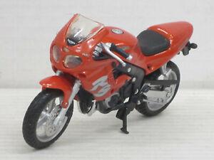 Motorrad Triumph 955i RS in orangemetallic, ohne OVP, Maisto, 1:18