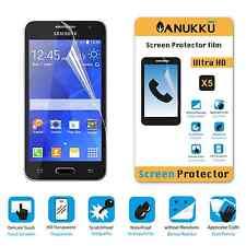 3x PELLICOLA PROTETTIVA per Samsung Galaxy Core 2 G355 FRONTE + PANNO