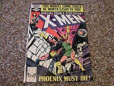 "Uncanny X-Men #137 VF+ 1980 Marvel Comics Double Sized ""Phoenix Must Die"""