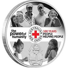 2014 $1 100th Anniversary of Australian Red Cross 1oz Silver Proof Coin