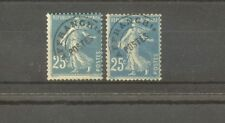"""FRANCE STAMP TIMBRE PREOBLITERES N°56+56a""""SEMEUSE 25c,2 SURCHARGE""""NEUFS xxTB/TTB"""