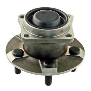 Unitized Rear Wheel Hub Bearing Assembly without ABS Left or Right