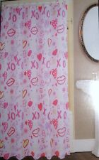"""PRINTED FABRIC SHOWER CURTAIN 100% POLYESTER  70""""X72"""" NEW WITH TAGS"""