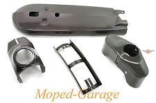 Kreidler Florett RS GT LF LH RM Verkleidungs Set Kettenschutz Gabel Rahmen Grau