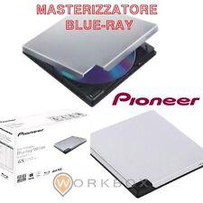 PIONEER BDR-XD05TS MASTERIZZATORE BLU-RAY PIONEER BDR-XD05TS ESTERNO SLIM BIANCO