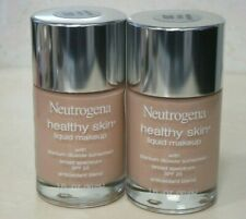 NEUTROGENA HEALTHY SKIN LIQUID MAKEUP SPF 20 NATURAL IVORY 20 1 OZ (2 PIECE LOT)