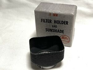 Genuine Bolex Lens Hood Vintage 5.5mm 12 Switar Yvar Angenieux Beaulieu D Mount
