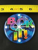 Vintage Pizza Hut BOOK IT! 1998 14th Year pin button pinback *EE70