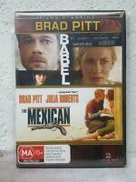 Brad Pitt Movie - Babel + The Mexican (DVD, 2009, 2-Disc Set) REGION 4 AUSTRALIA