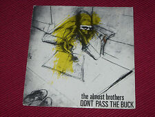 """The Almost Brothers  – Don't Pass The Buck  orig  7""""   1981 post punk"""