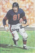 George Connor autographed signed Goal Line Art Card