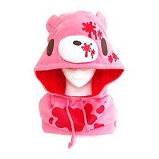 SAZAC Kigurumi Cap Neck Warmer Gloomy Bear Pink Cosplay Costume Party Plush