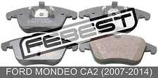 Pad Kit, Disc Brake, Front For Ford Mondeo Ca2 (2007-2014)