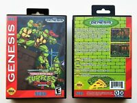 TMNT Streets of Rage 2 Custom Game Teenage Mutant Ninja Turtles Sega Genesis USA
