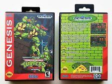 Tmnt Streets of Rage 2 Game Teenage Mutant Ninja Turtles Sega Genesis Usa Seller