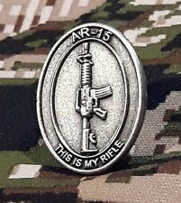 Universal AR15 M16 M4 Owner / Commemoration Creed Pin™