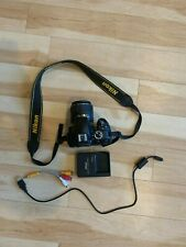Nikon D D3300 24.2MP Digital SLR Camera - Black w/ Original Lens, 64GB SD Card