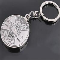 50 Years Perpetual Calendar Key Ring Year Month Day Display Key Chain Keyring CF
