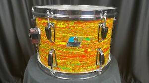 Ludwig Vintage Drums 8x12 Citrus Mod Tom Tom - Used, Modified