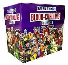 Horrible Histories Blood Curdling Collection 20 Books Box Brand NEW Free P & P