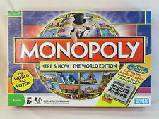MONOPOLY Here & Now THE WORLD EDITION HASBRO 2008 NEAR MINT CONDITION