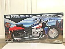 NEW Mega Bloks ProBuilder Harley Davidson Softail Motorcycle 9771