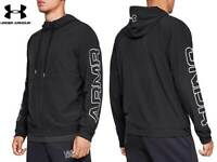 Men's Under Armour 'Base Line Hooded' Jacket. Black. Small to XL