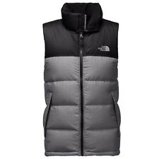 THE NORTH FACE Mens 2018 NUPTSE VEST TNF Medium Grey Heather / TNF Black