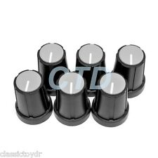 GK Gallien Krueger 250ML Lunchbox Guitar Amp Control Knob Gray/Black Set of (6)