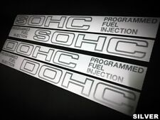 STICKER dohc/sohc vtec CIVIC 3rd & CRX 1st