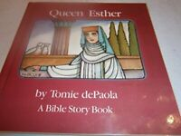Queen Esther by dePaola Tomie Book The Fast Free Shipping