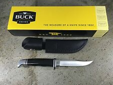 Buck Woodsman 102BKS-B Fixed Blade Knife 102 with Sheath