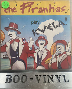 "The Piranhas Play Kwela 7"" Vinyl Single 1980 UK Pic Sleeve Sire - SIR 4044 Ex"