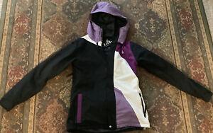 Volcom Black Ski Snowboard Jacket Hooded M