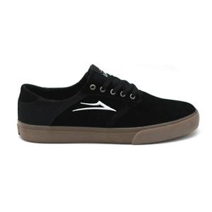 Lakai Porter Black/Gum Suede Skateboard