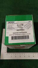 SCHNEIDER METSEEM3550 DIGITAL POWER/ENERGY LCD METER (A-27)