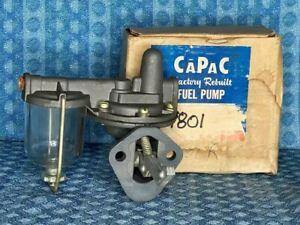 1950-55 Nash Hudson Rambler Statesman NORS Fuel Pump w/Glass Bowl 52 53 54 #9801