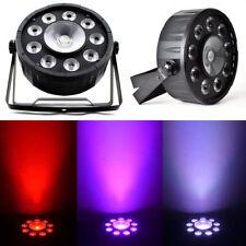 80W LED Bühnenbeleuchtung Licht DMX 9X3W +1X30w LED PAR64 RGB Party DJ STAGELAMP