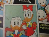Walt Disney's Duck Album Dell 353 Golden Age Donald Duck Cartoon Tie In 1951