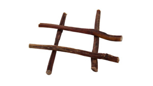 12 Inch (30 cm) Beef Bull Pizzles Sticks for dogs - 100% Natural dog Treat