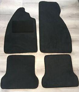 Velours Fußmatten in schwarz Alfa Romeo 155 Bj 1992-1998
