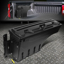 FOR 15-20 FORD F-150 PICKUP TRUCK BED WHEEL WELL STORAGE TOOL BOX W/LOCK LEFT