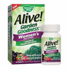 Nature's Way Alive! Garden Goodness Women's Organic Multi-Vitamin 60 EXP 4/2020