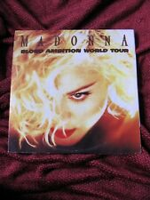 Madonna ORIGINAL Blond Ambition JAPAN MLVC Tour 2 Record LP Set Vinyl 1990 Sex